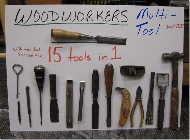 Ron Herman's a funny guy, check out his 15-in-1 tool.