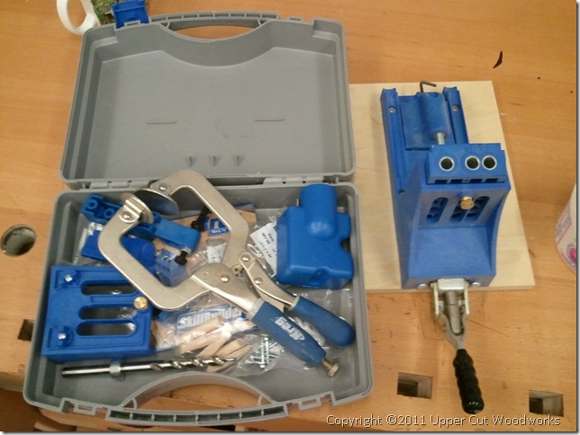Kreg Jig Master Kit, used once. Sells for $139. $60.