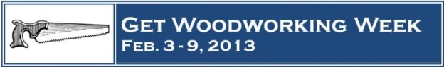 Get Woodworking Week 2013 Logo